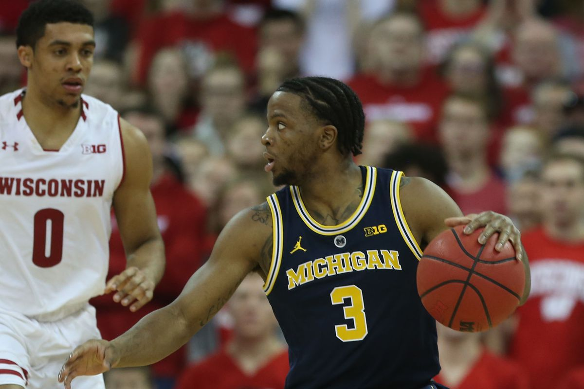 NCAA Basketball: Michigan at Wisconsin