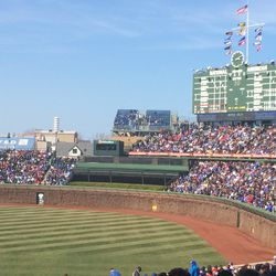 A beautiful day for baseball!