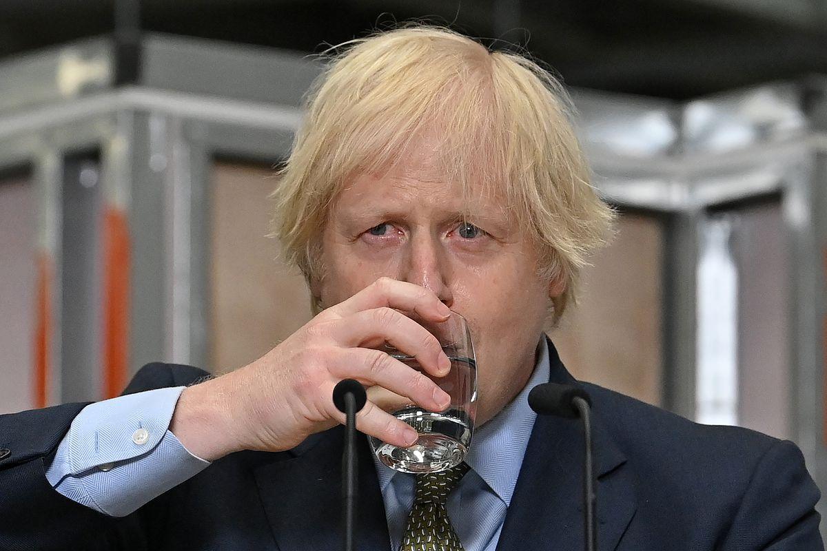 Boris Johnson Makes A Speech On The UK's Economic Recovery