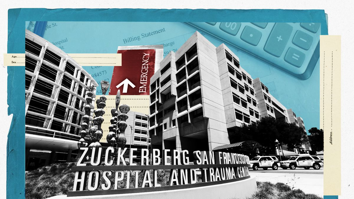 Prices at Zuckerberg hospital's emergency room are higher