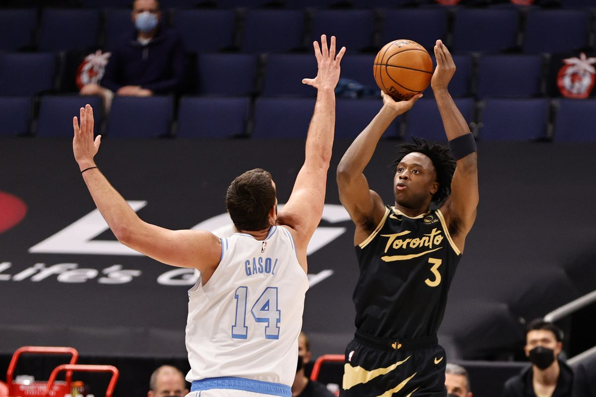 Five thoughts recap: Los Angeles Lakers 110, Toronto Raptors 101, OG Anunoby