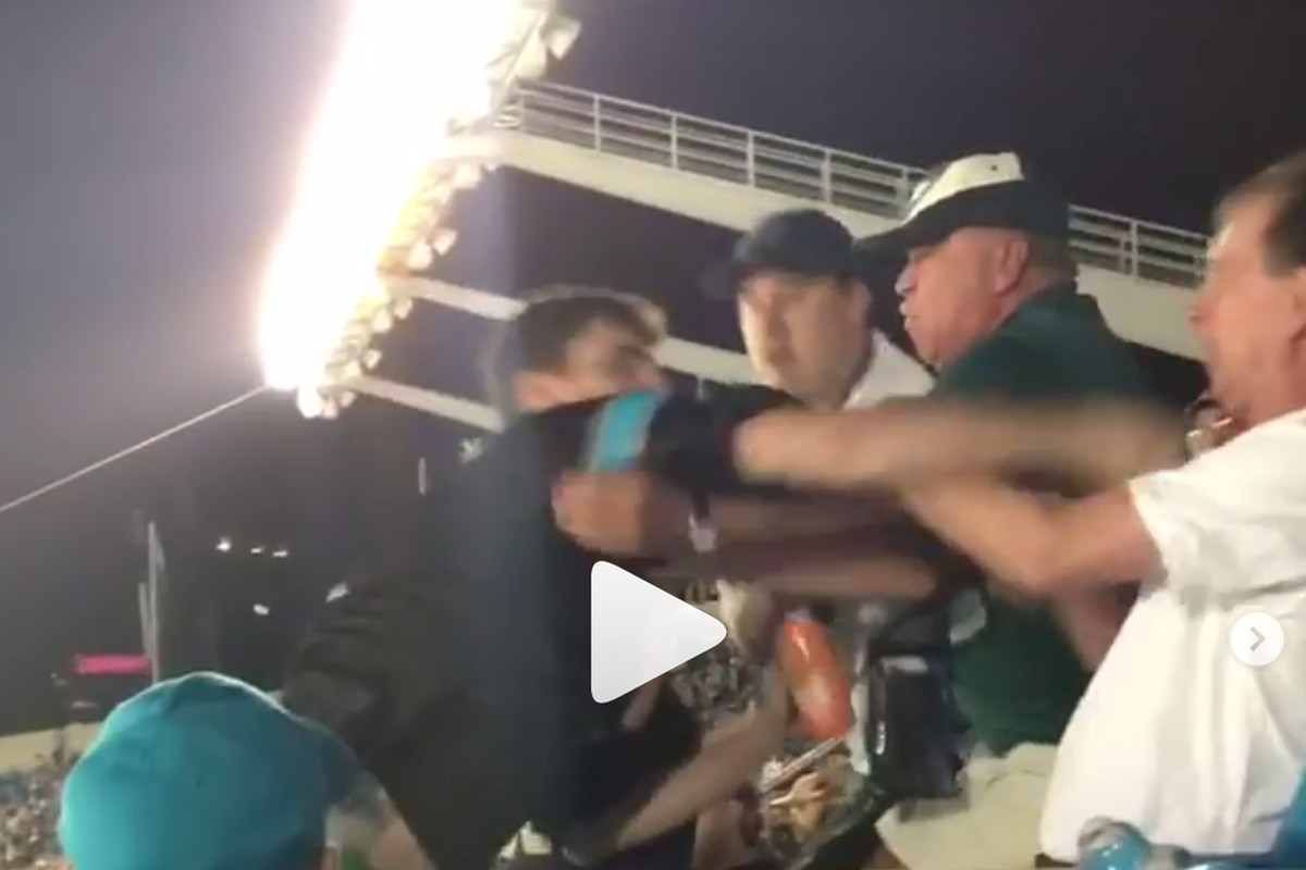 576a7892222 Panthers fan sucker punches fan in the face during Thursday Night Football   UPDATE