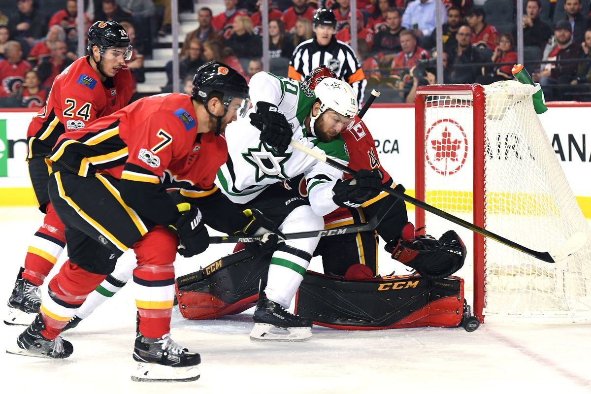 Calgary Flames vs Dallas Stars 11/28/18 (25/82): Flames Return Home To The  Struggling Dallas Stars - Matchsticks and Gasoline