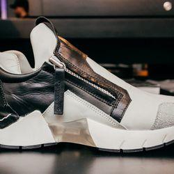 """CA by Cinzia Araia Running Zip, <a href=""""http://odd-style.com/womens/shoes/running-zip"""">$525</a>"""