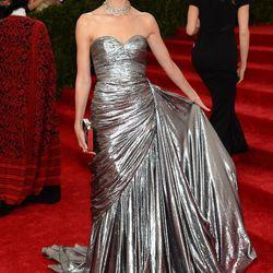 Lily Aldridge in Michael Kors