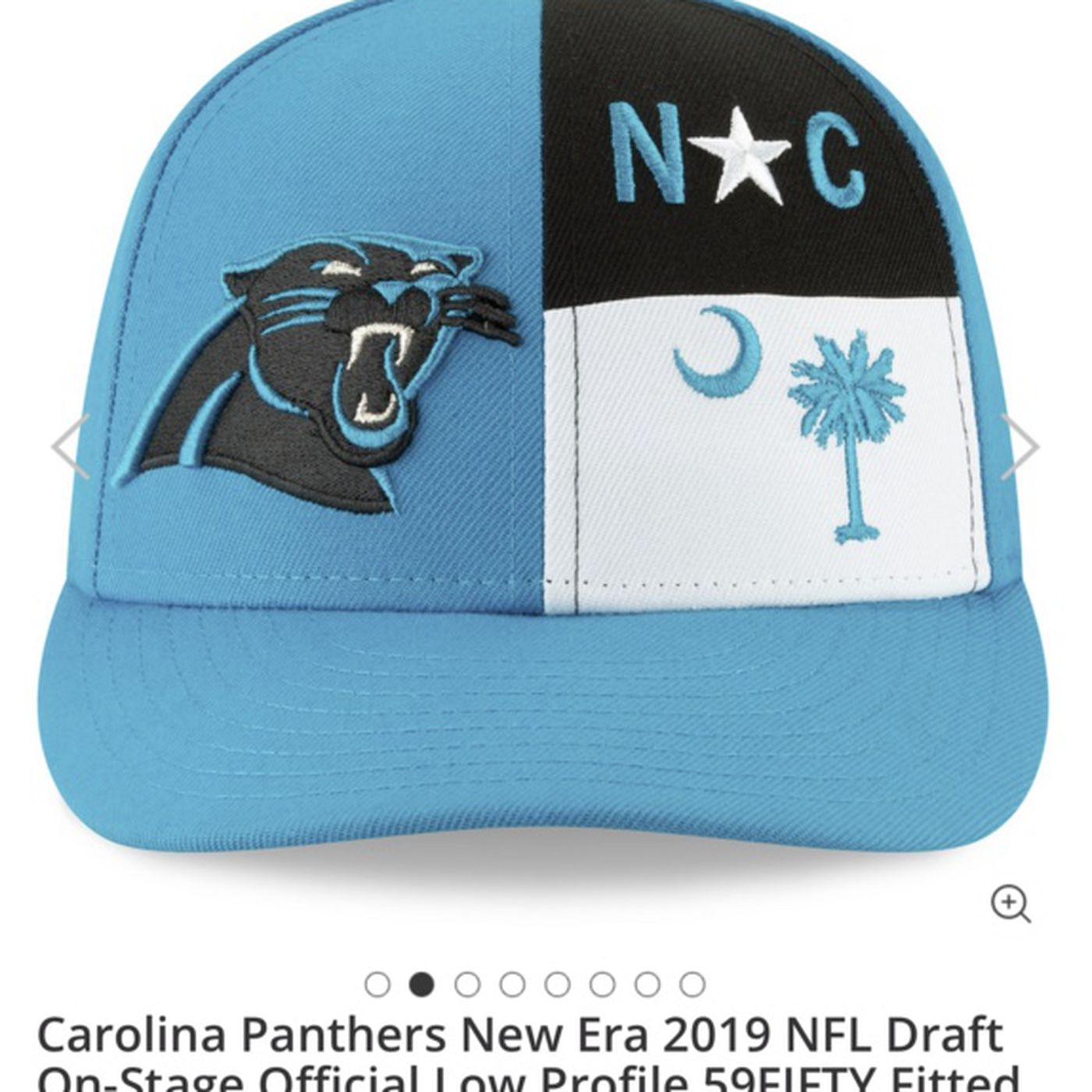 c1d1036509325 Panthers Twitter roasts Carolina s 2019 NFL Draft cap - Cat Scratch ...