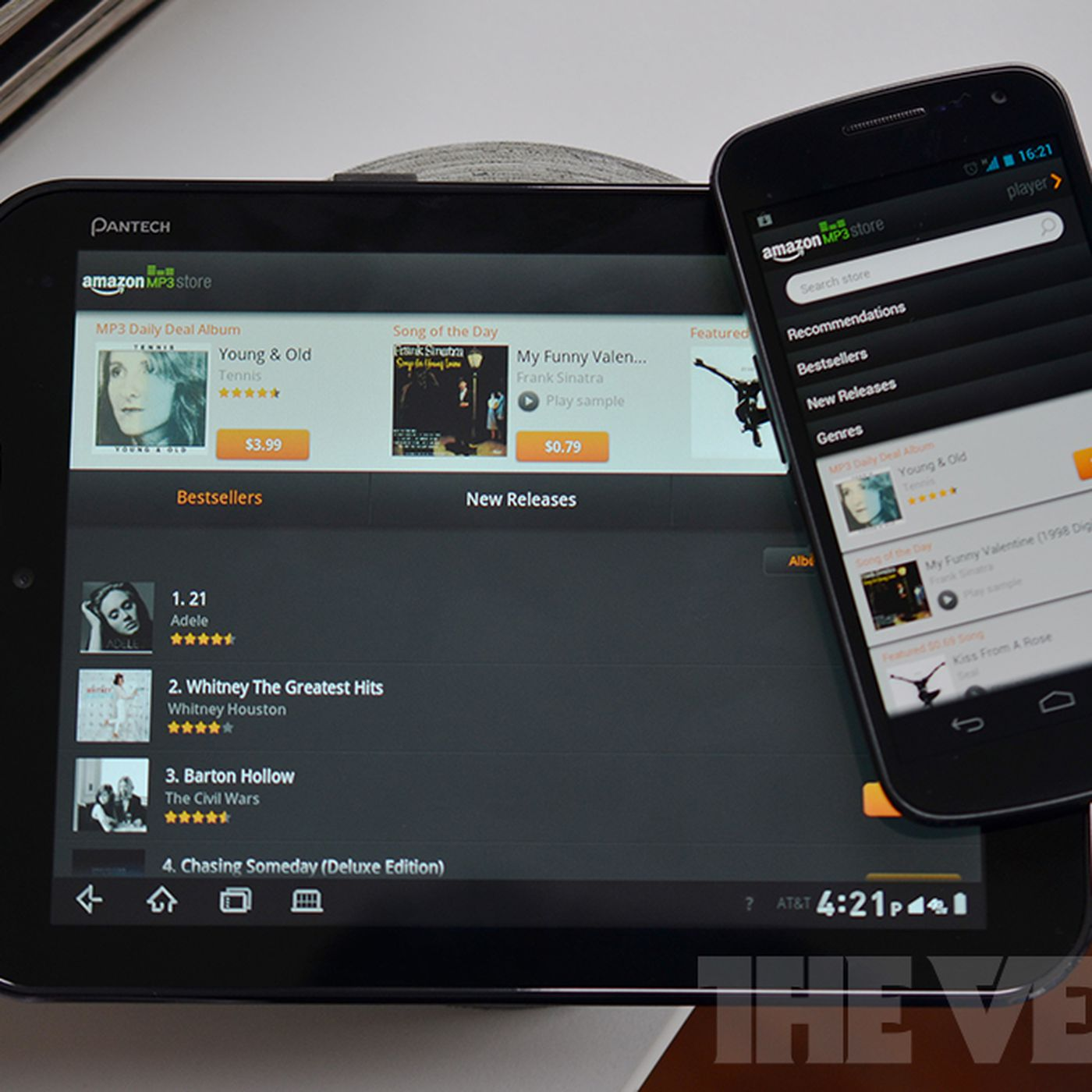 Amazon MP3 Android app gets update with tablet optimization