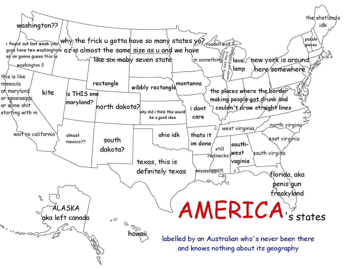 Picture of: 27 Hilariously Bad Maps That Explain Nothing Vox