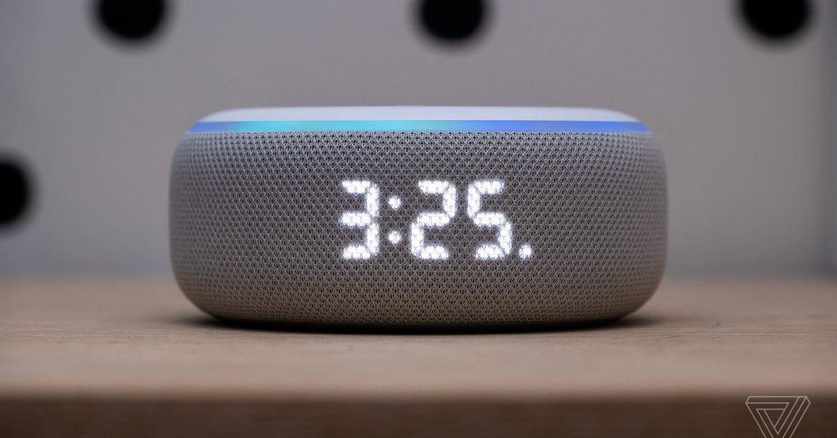 Amazon Echo Dot with clock review: time is on its side - A $59 clock that also comes with a pretty good speaker