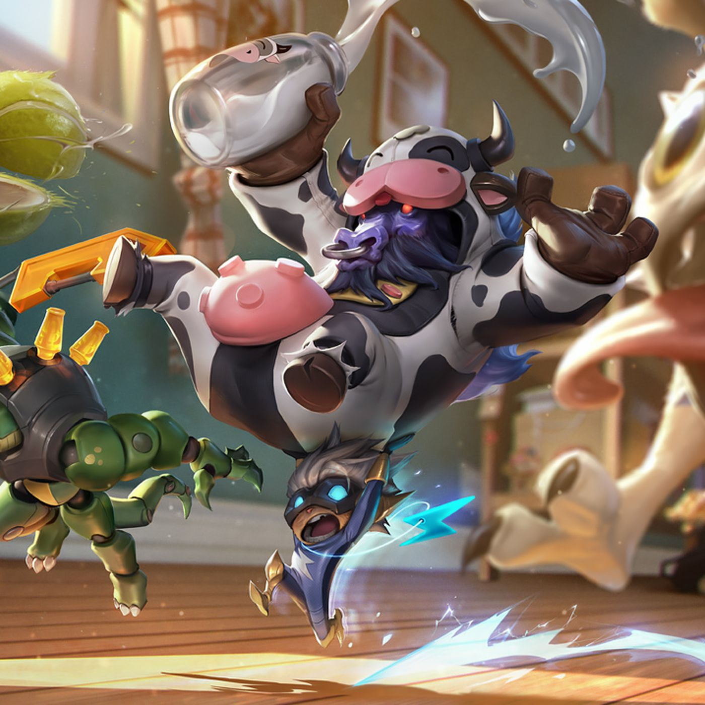 2017 April Fools' skins: Pug'Maw, Renektoy, Moo Cow Alistar and Super  Kennen - The Rift Herald