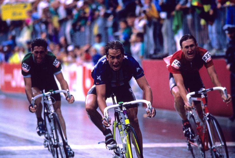 Sean Kelly, Greg LeMond, Dimitri Konichev