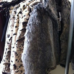 These faux fur numbers are regularly $208 to $288, but right now they're $48 a pop!