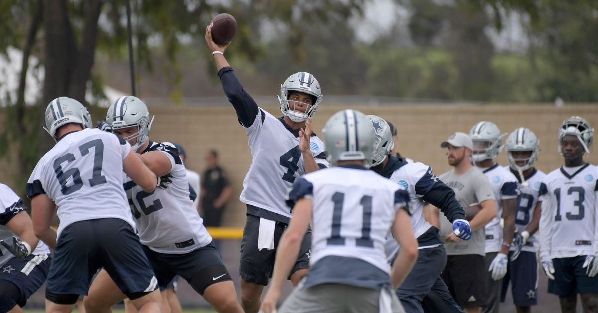 Cowboys training camp practice live updates: August 15, 2018