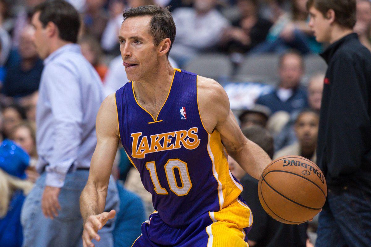 4af160b45dae The Lakers  bad gamble on Steve Nash - SBNation.com