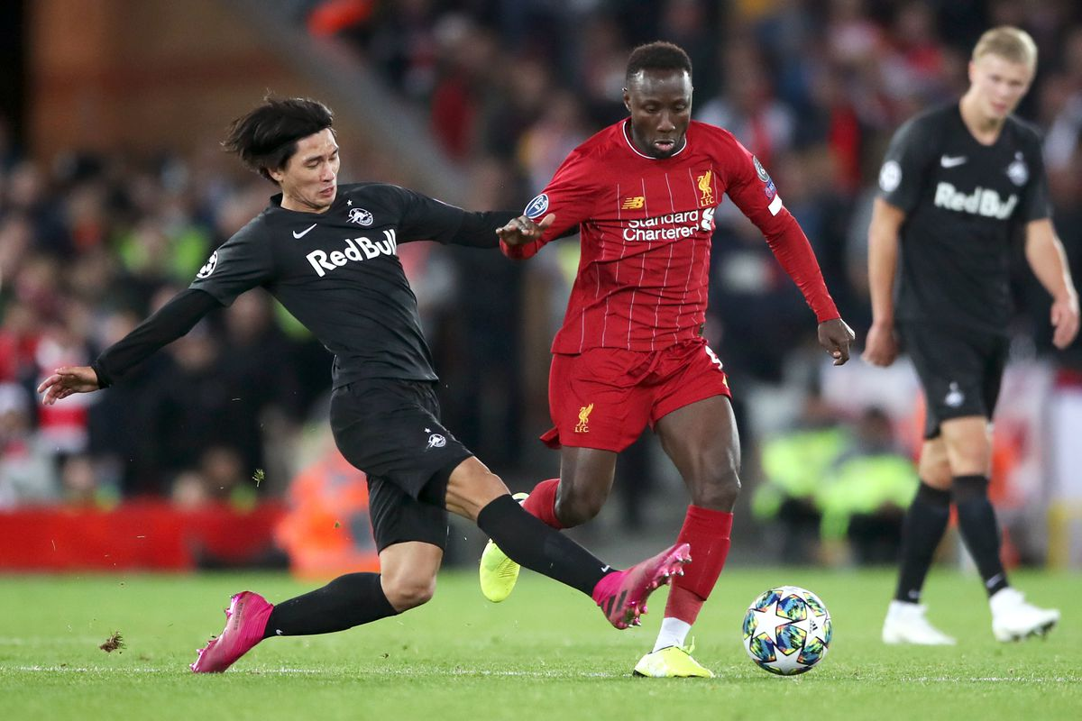 Liverpool v FC Red Bull Salzburg - UEFA Champions League - Group E - Anfield