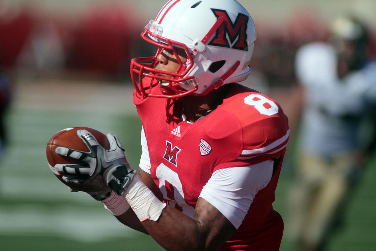 Harwell's chances at being the MAC's top receiver remains hanging in the balance.