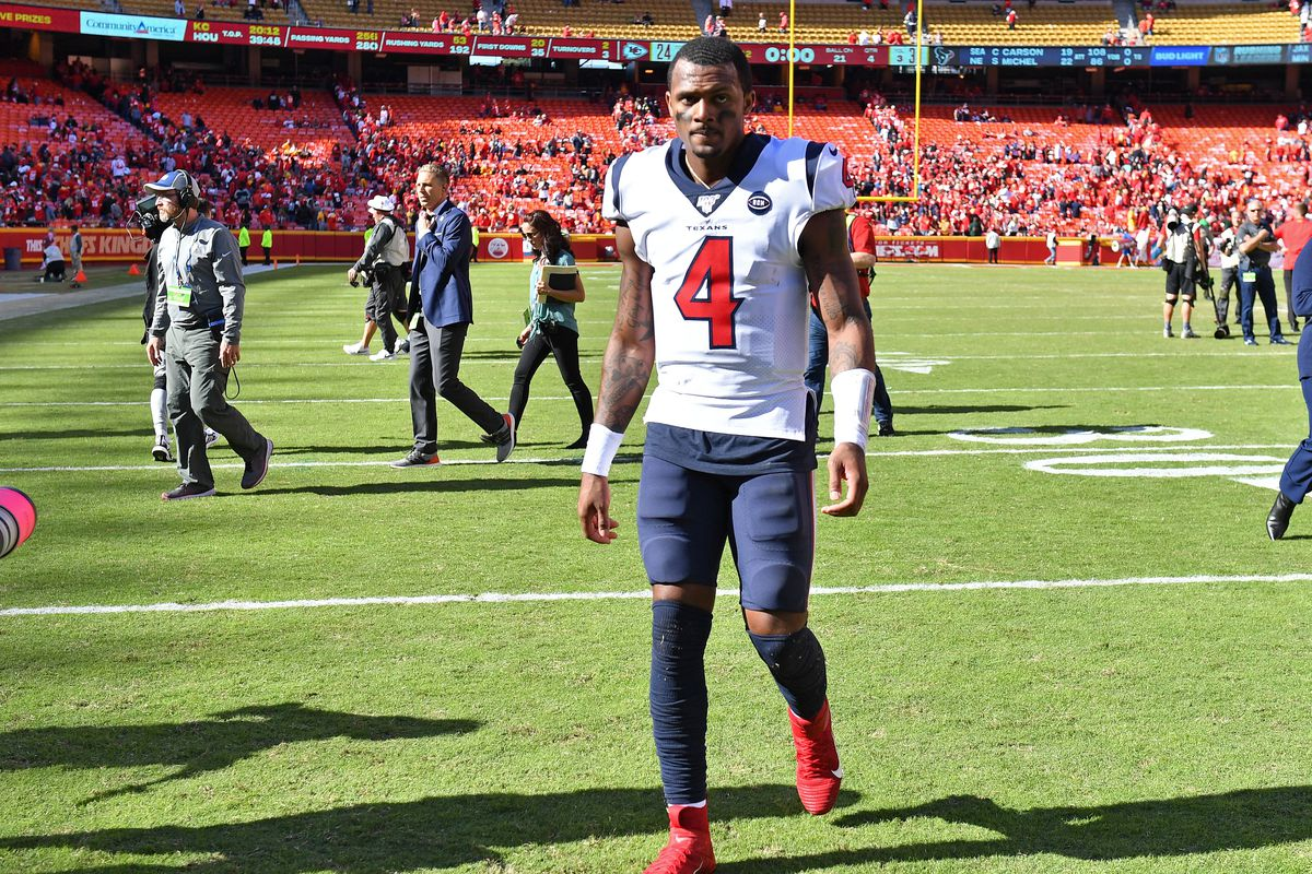 Incompletions Texans Chiefs The Deshaun Watson Patrick