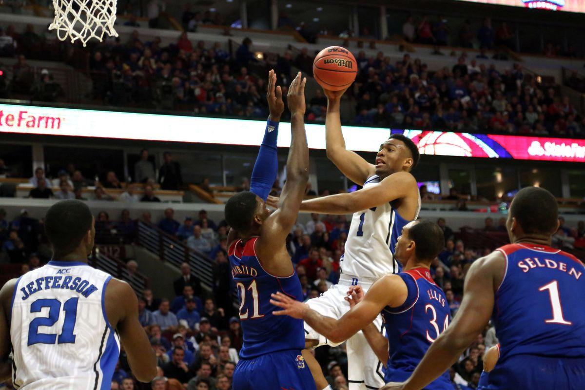 Parker Buzz - Will Jabari Return? - Duke Basketball Report Jabari Parker Shooting