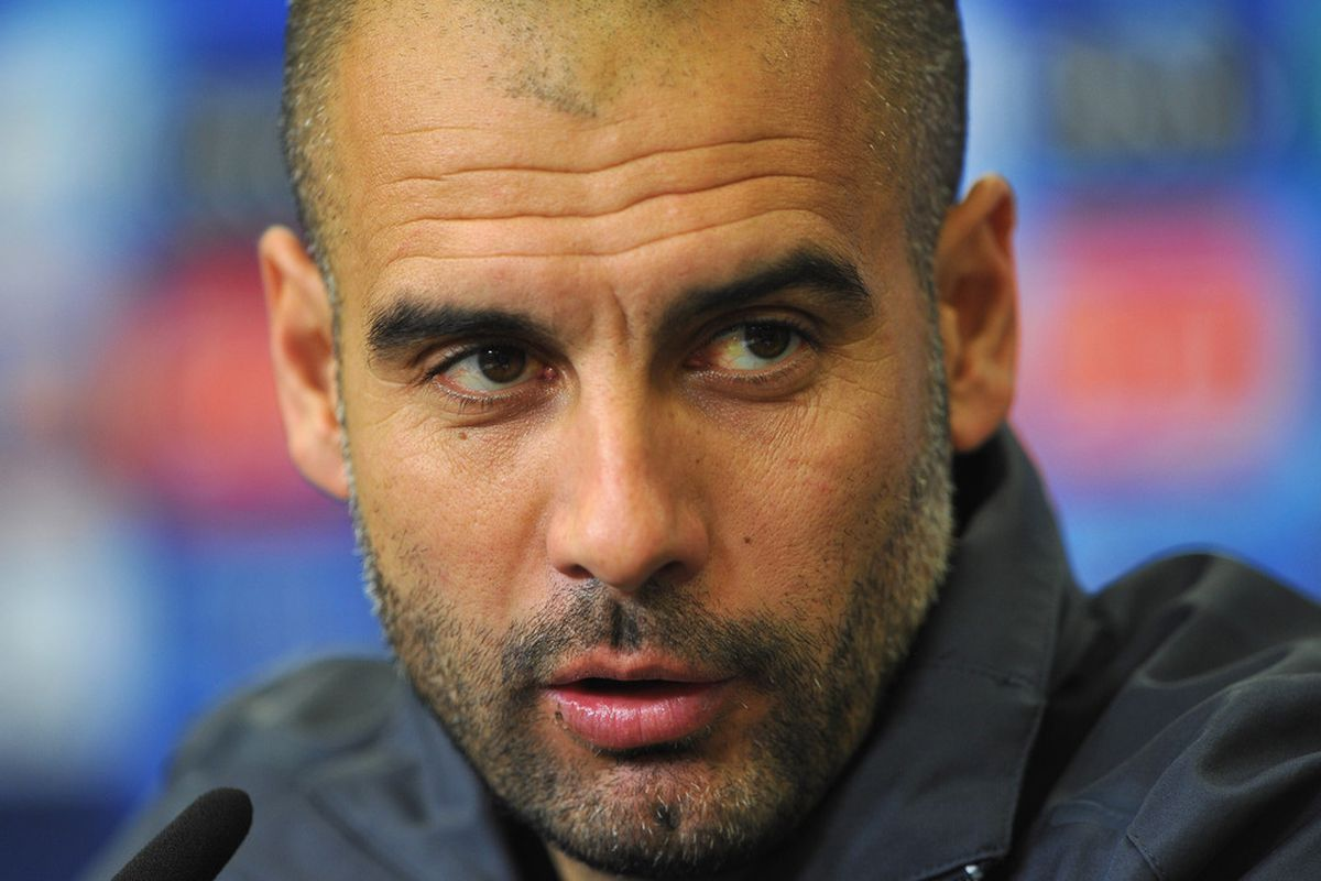 Pep remained his usual composed self in the latest press conference.