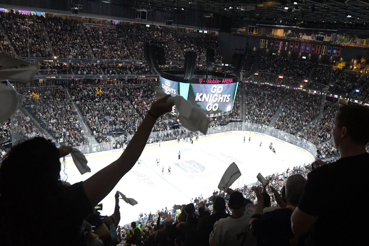 Beating the Golden Knights in the T-Mobile Arena is no easy task