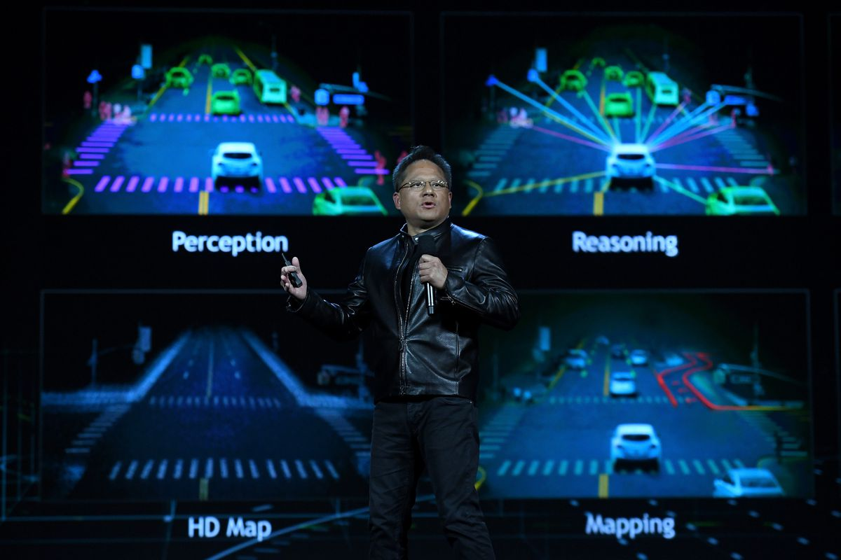 Nvidia's new Pegasus AI computer is created to drive autonomous taxis