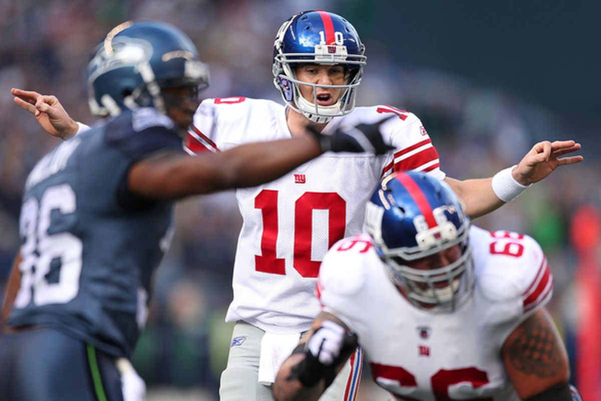 Eli Manning completed 17 of 37 passes for 162 yards, a touchdown and two interceptions in his fist professional start. Despite the insistent pleas of local sports columnist, the Giants did not bench Manning and re-sign Phil Simms.