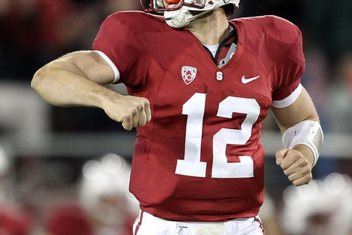 Andrew Luck was named the Pac-10 Offensive Player of the Year.