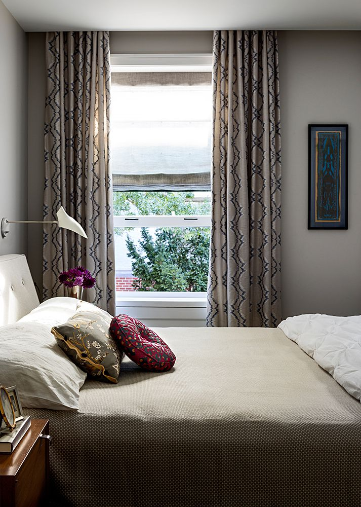 A complex gray in a Brooklyn townhouse