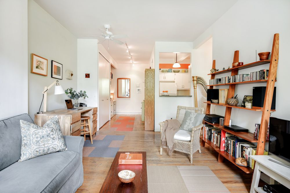 How much for an airy East Village one-bedroom condo? 1