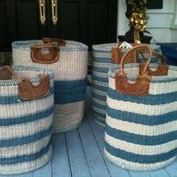 """""""<a href=""""http://pinterest.com/pin/492649930058936/"""">Mecox Gardens - Hand-Made Woven Baskets Detail</a>"""""""