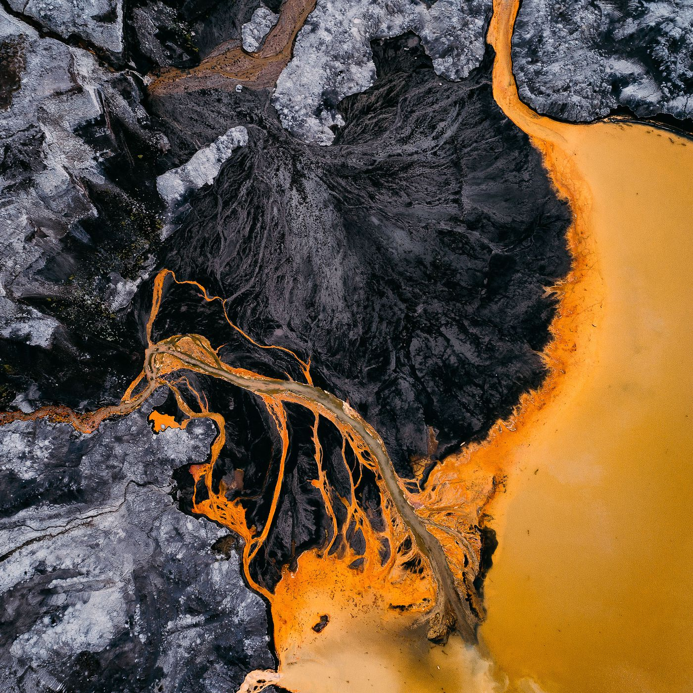 Tom Hegen's aerial photography captures the human impact on