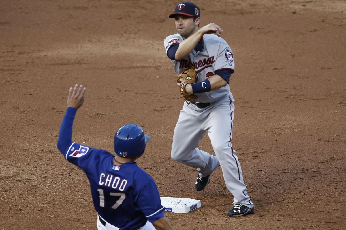 Brian Dozier of the Twins is having a very good year