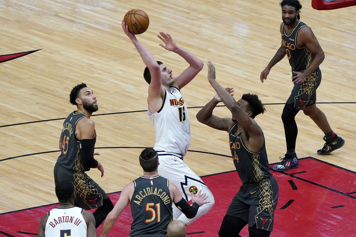 NBA: Denver Nuggets at Chicago Bulls