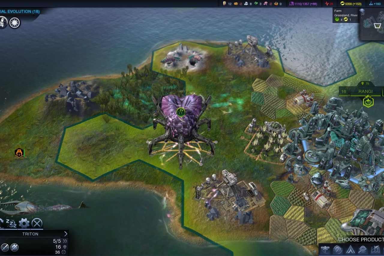 Civilization: Beyond Earth' takes the strategy series out of the