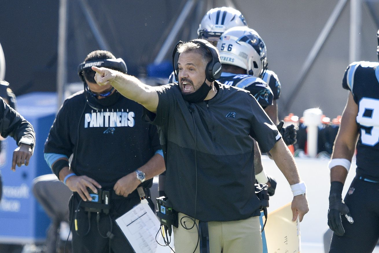 usa today 15317643.0 - The Panthers are giving full control to their first year head coach