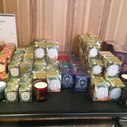Holiday candles, $20—$35