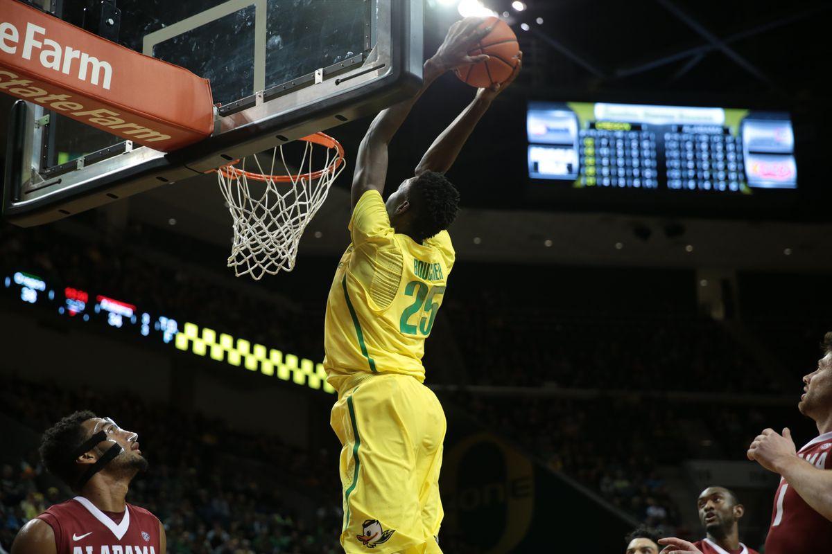 NCAA Basketball: Alabama at Oregon