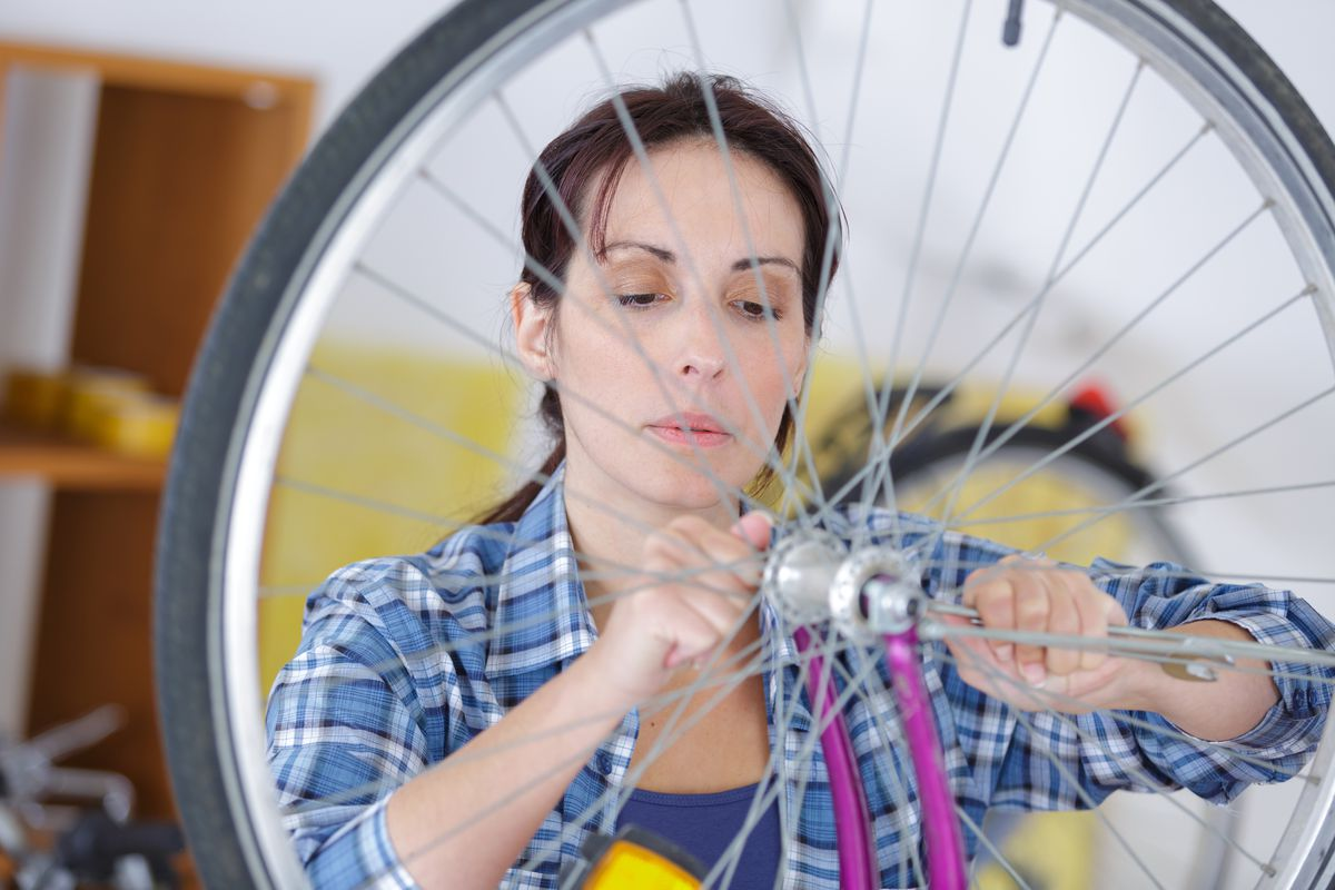 FILE - Bike mechanics has traditionally been a male-dominated trade, but the Provo Bicycle Collective is hoping to change that.
