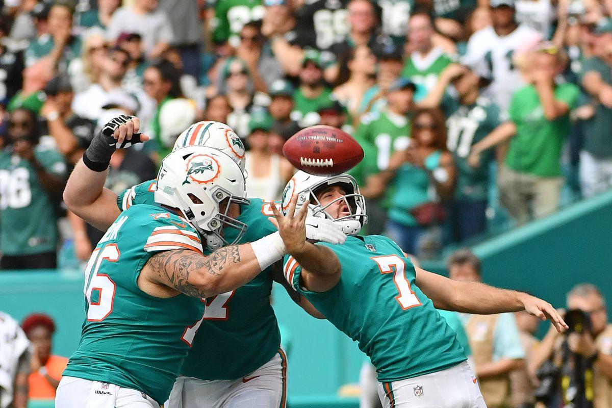 NFL: Philadelphia Eagles at Miami Dolphins