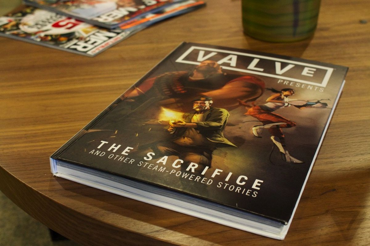 Valve The Sacrifice coffee table book stock 1020