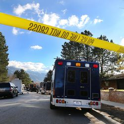 Local and federal agencies respond to a fentanyl drug bust in Cottonwood Heights on Tuesday, Nov. 22, 2016.
