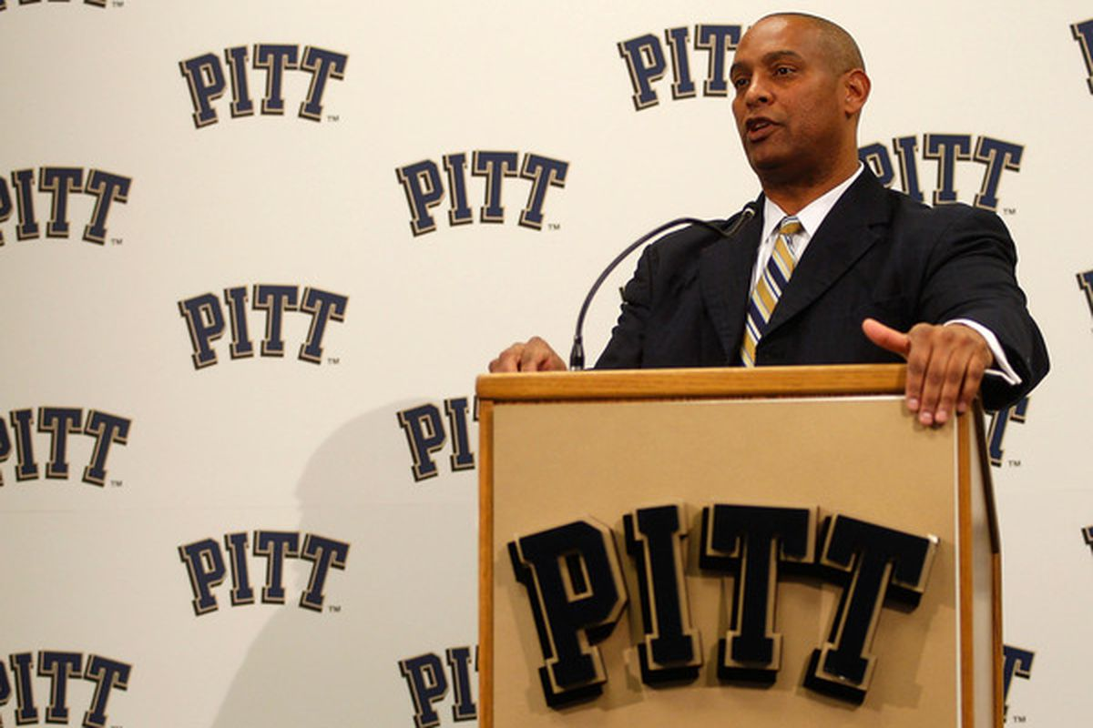 The first, and last, time you will ever see Haywood at the 'Pitt Podium'.