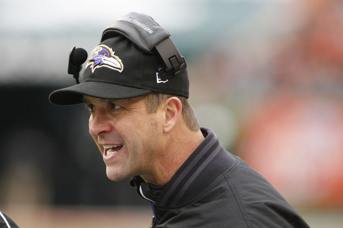 John Harbaugh says coaches inside and outside of the Ravens' organization will be considered for the offensive coordinator position.