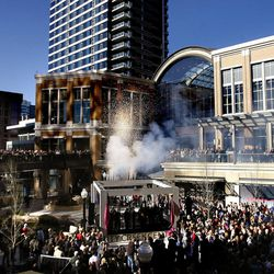The City Creek Center opens in Salt Lake City on Thursday, March 22, 2012.