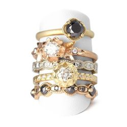 Start your shopping afternoon off a couple of blocks down the street at Megan Thorne Fine Jewels, the part-showroom, part-studio of an amazing Fort Worth-based talent. Megan is partial to ornate, antique-like jewels, and her designs are precious, lovely a