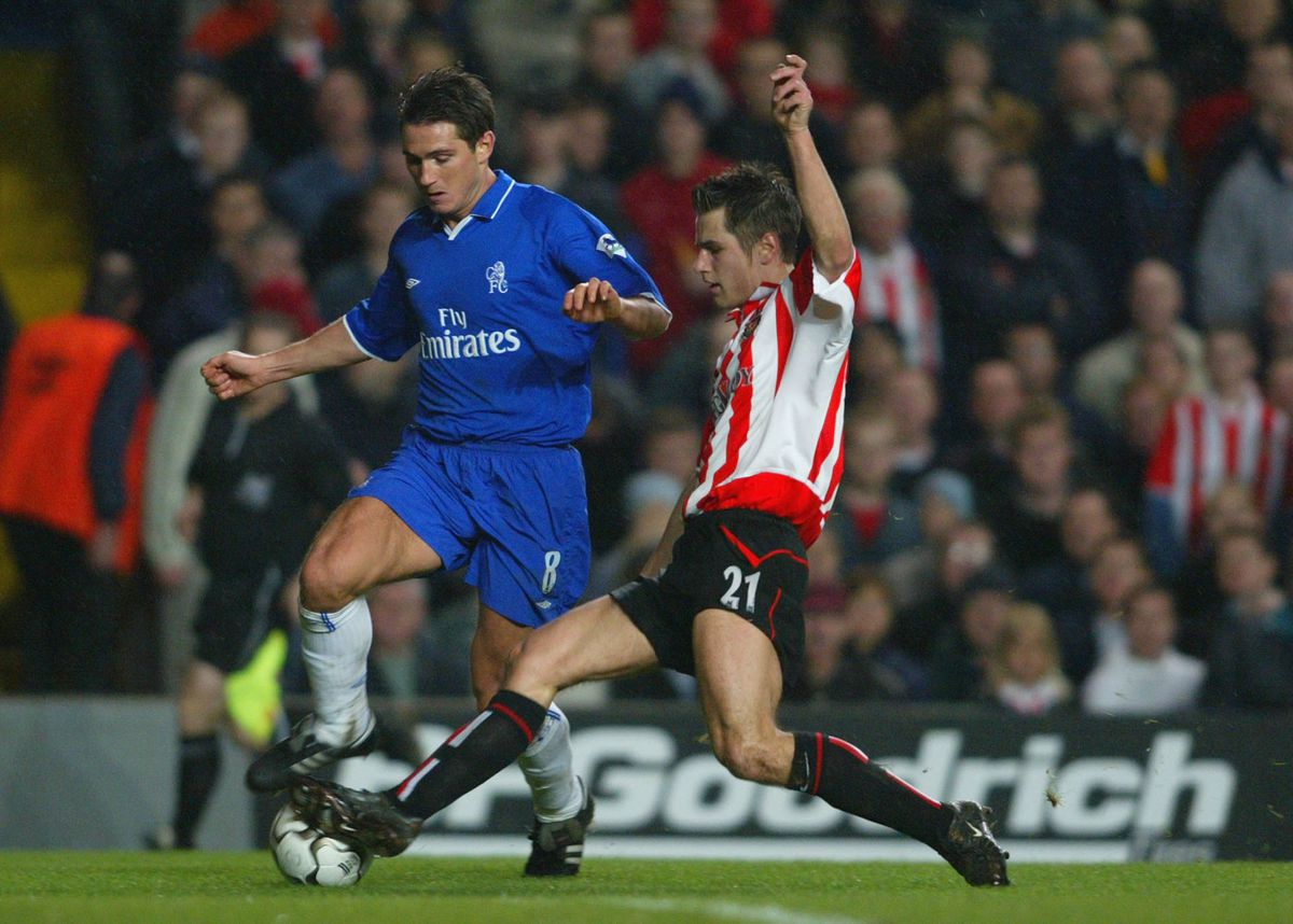 Lampard battles with Thirlwell
