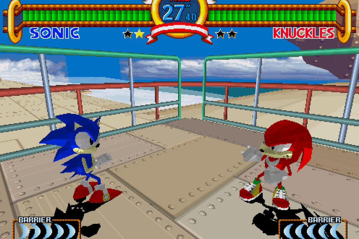 Sega's Virtua Fighter 2, Fighting Vipers, and Sonic the Fighters