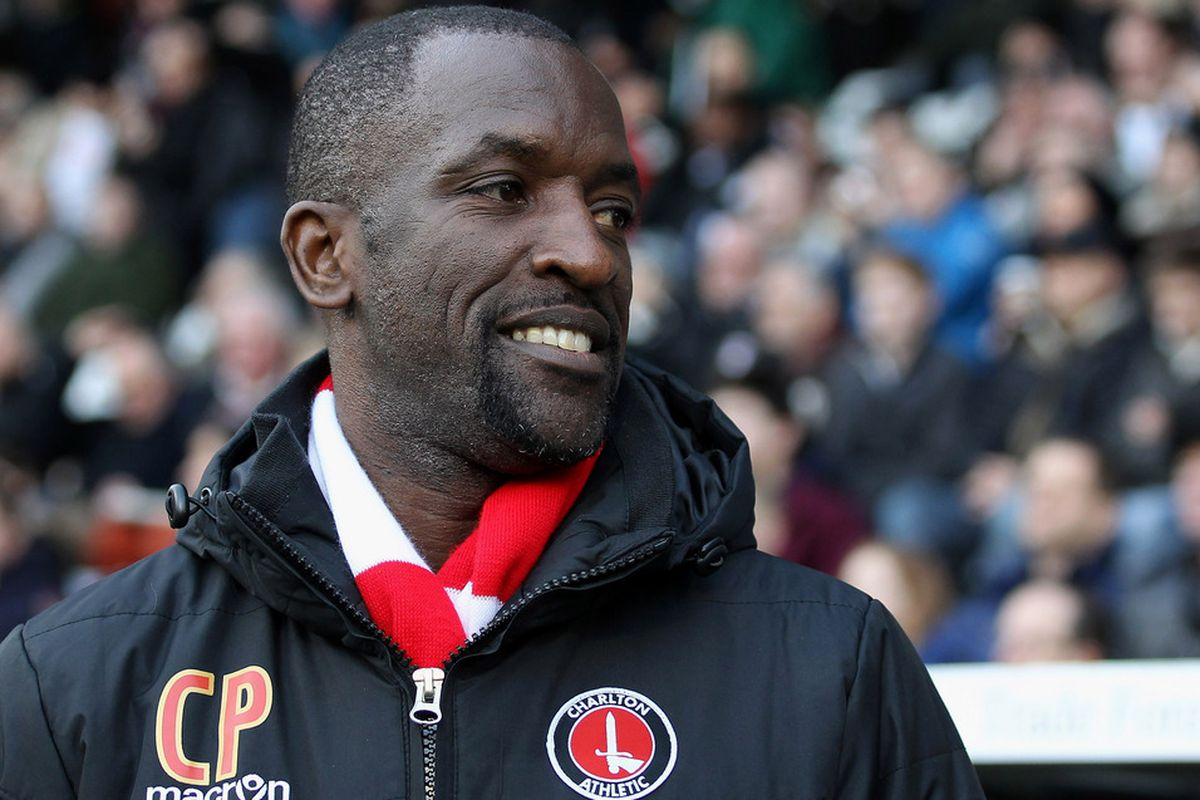 LONDON, ENGLAND - JANUARY 07:  Chris Powell manager of Charlton Athletic looks on during the FA Cup Third Round match between Fulham and Charlton Athletic at Craven Cottage on January 7, 2012 in London, England.  (Photo by Ian Walton/Getty Images)