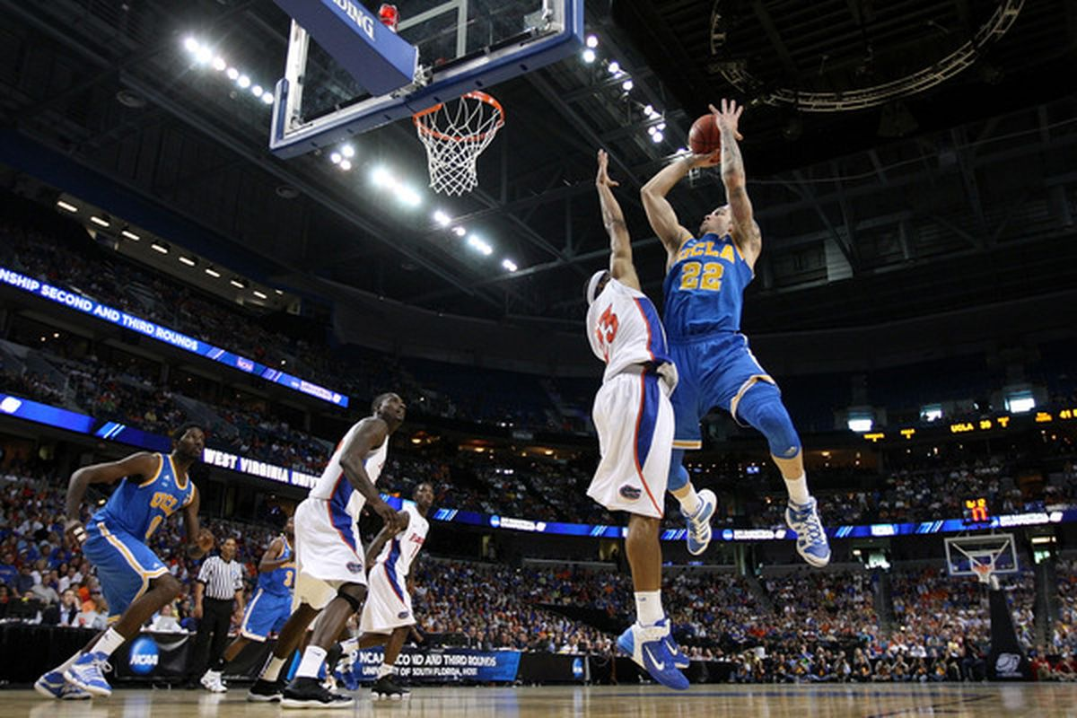 Despite loss of Malcolm Lee, UCLA still has enough talent to win the Pac-10 title in 2011-12.  (Photo by Mike Ehrmann/Getty Images)