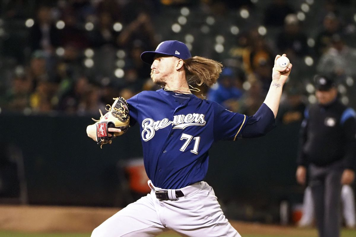 MLB: Milwaukee Brewers at Oakland Athletics